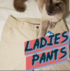 LADIES PANTS, ORGANIZED BY SIZE! INVENTORY LIST
